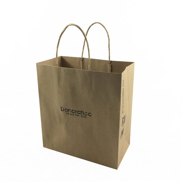 kraft paper bag with handles